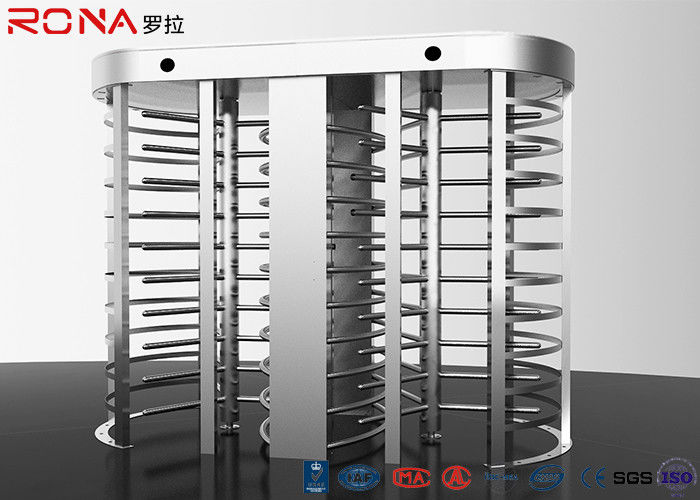 Electronic Full Height Turnstile Security Entrance 30 Persons / Min Pass Speed