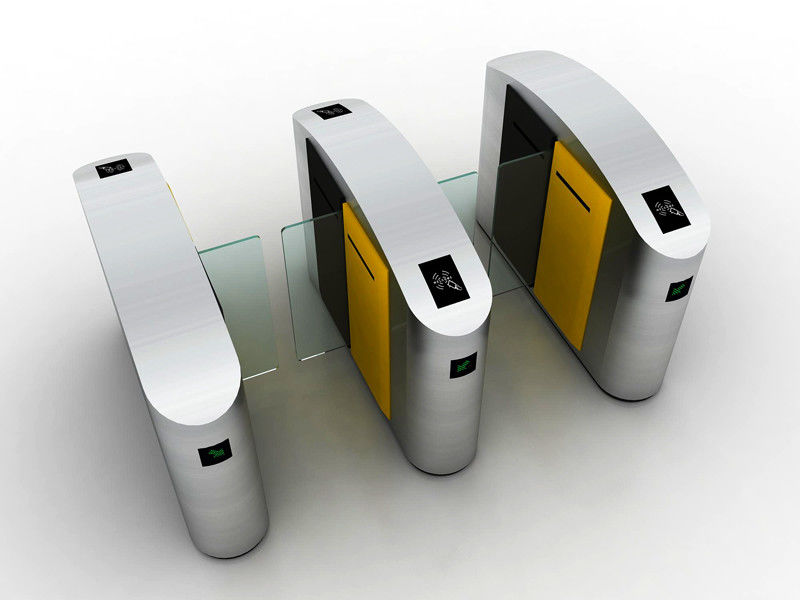 Face Recognition Sliding Pedestrian Turnstile Gate IC / ID Identification
