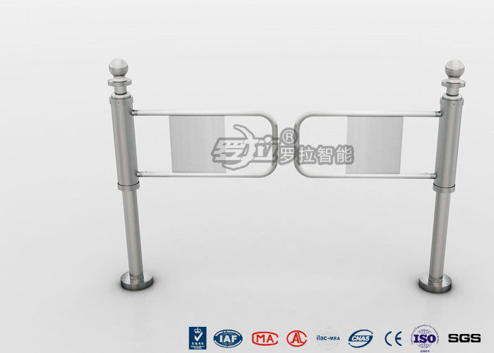 Manaul Pedestrian Swing Gate Wide Channel Mechanical Opening Handicapped Application
